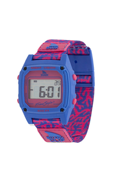 Shark Watch Classic Clip | Coral Pink
