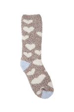 Cozy Crew Socks | Falling Heart
