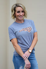 North Carolina Home T-shirt | Leopard