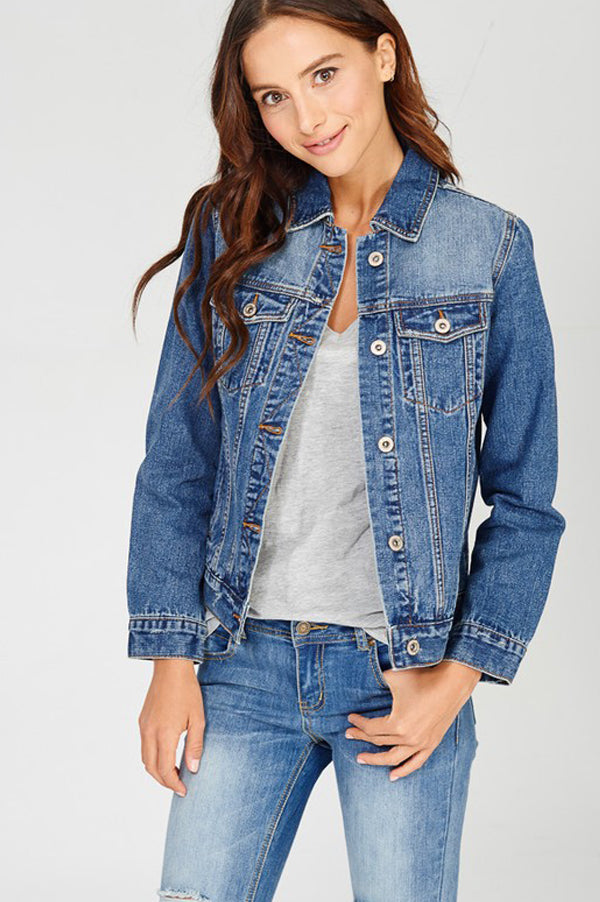 READY // Dark Denim Jacket