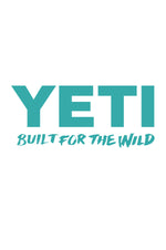 Yeti Window Decal | Teal