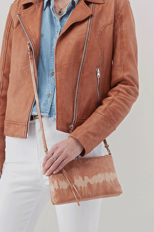Darcy Leather Crossbody | Desert Tie Dye