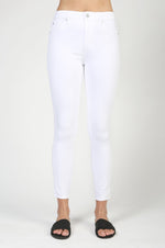 Heather High Rise Cropped Denim | Desire