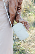 Fate Leather Crossbody | Dew