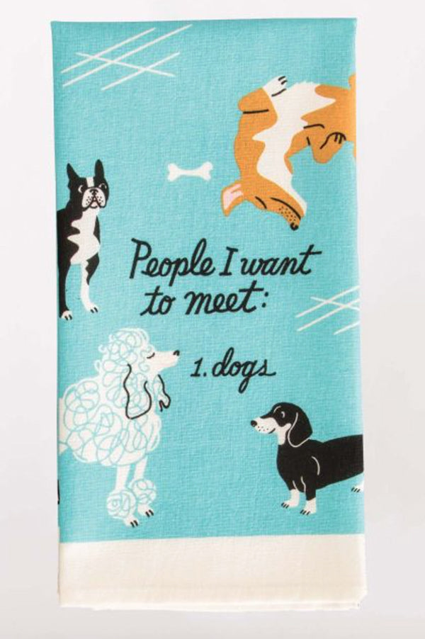 Dish Towel | People To Meet Dogs