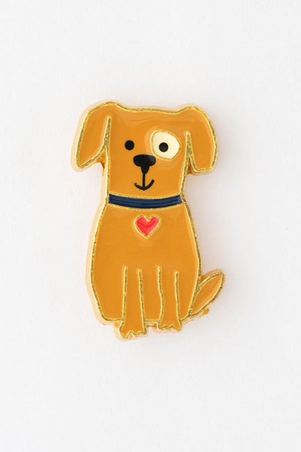 Enamel Pin Greeting Card | I Ruff You