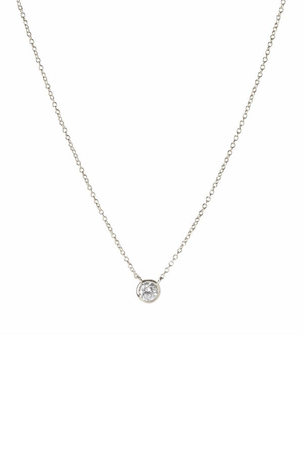 Dove Necklace | Silver