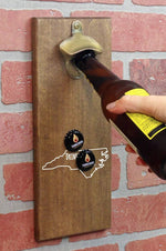 Magnetic Beer Bottle Opener | Drink Beer From Here NC