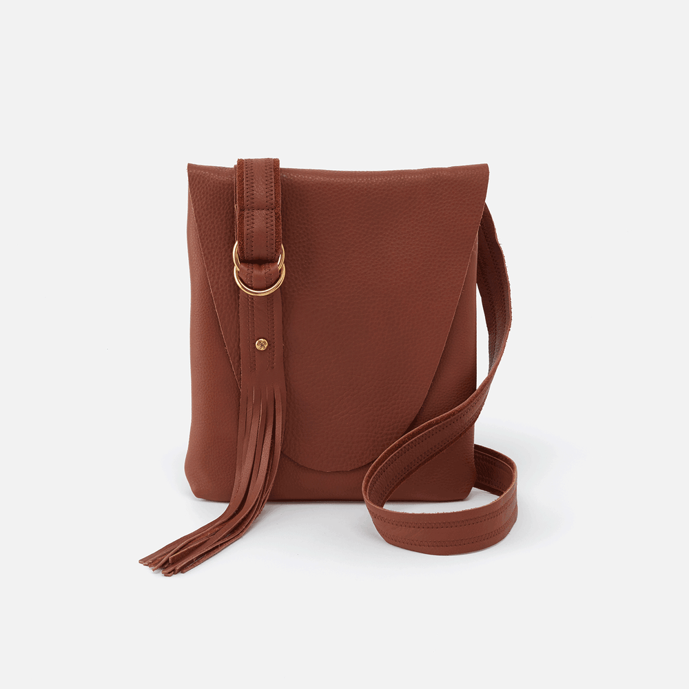 Echo Leather Crossbody | Toffee