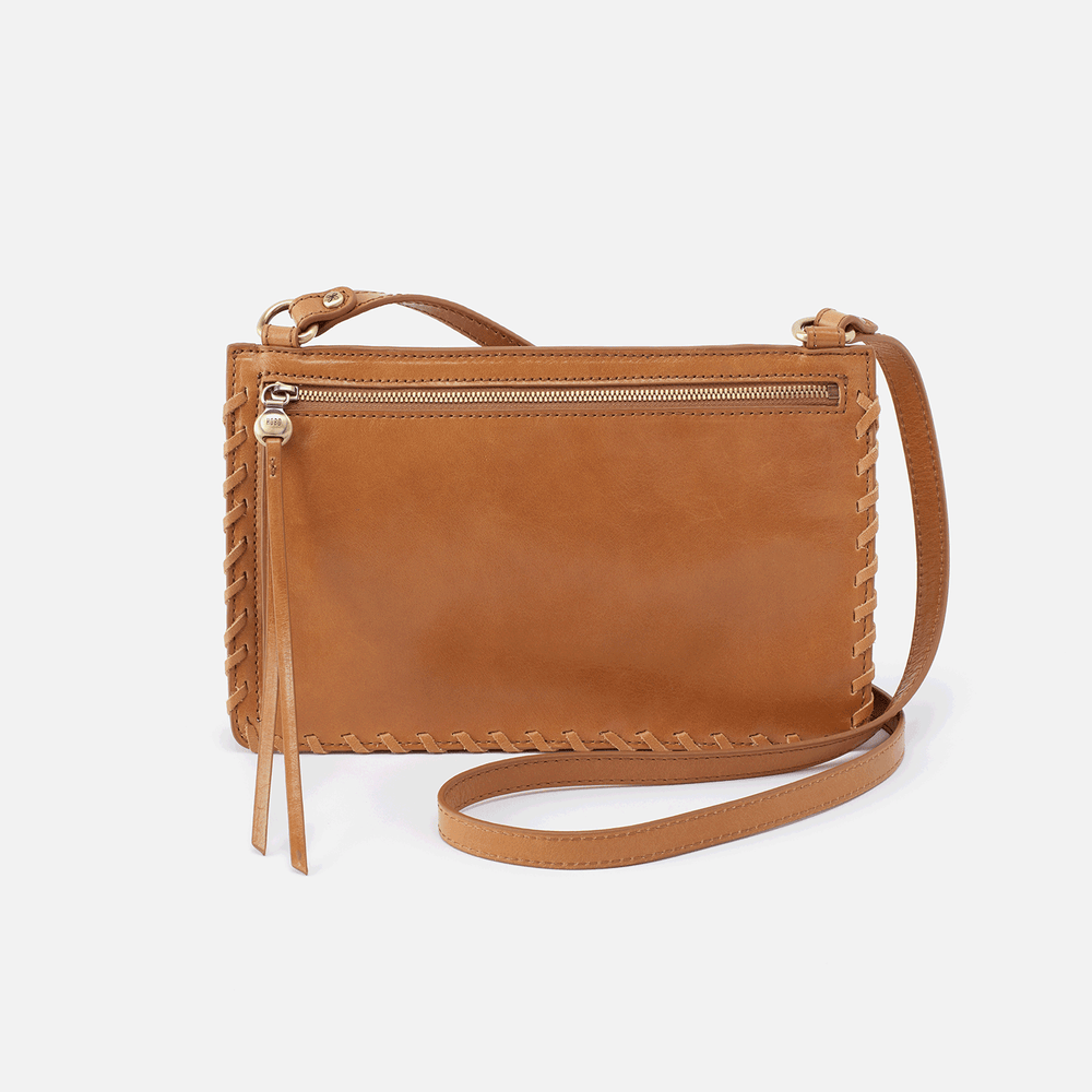 Evoke Leather Crossbody | Honey