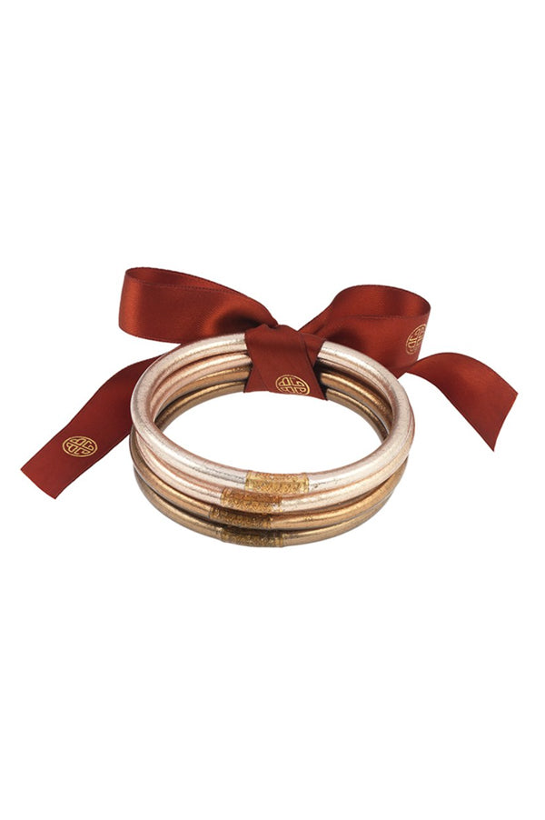 All Weather Bangles Set of 4 | Fawn