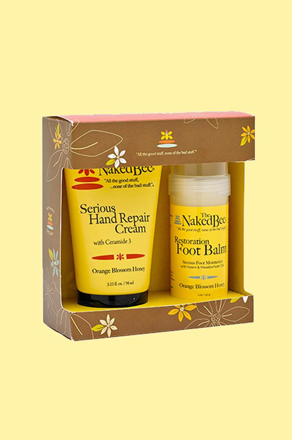 Hand & Foot Repair Kit | Orange Blossom Honey