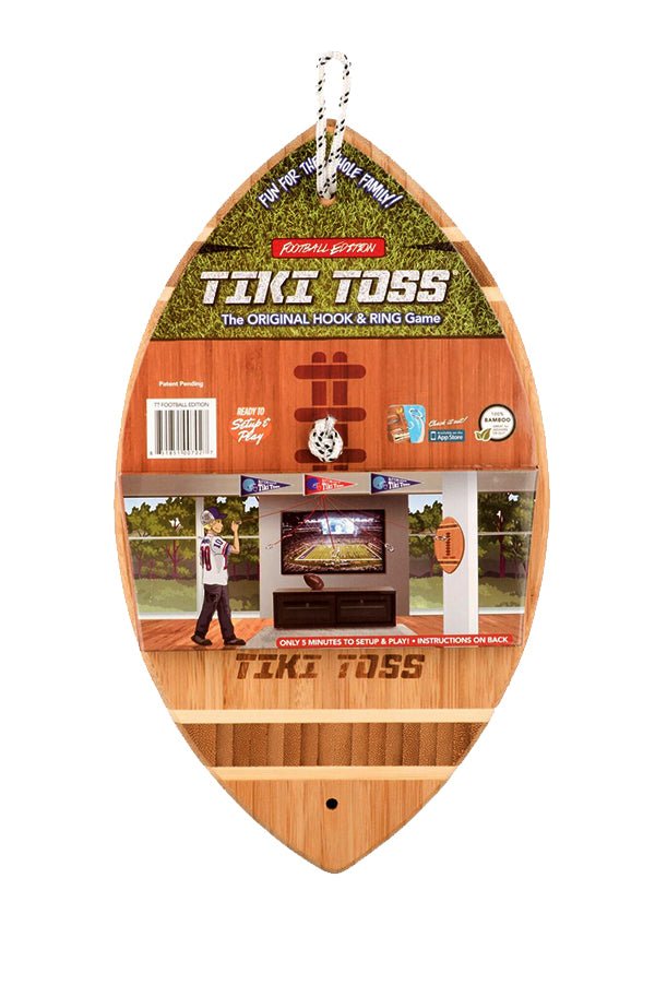 Tiki Toss | Deluxe Football Edition