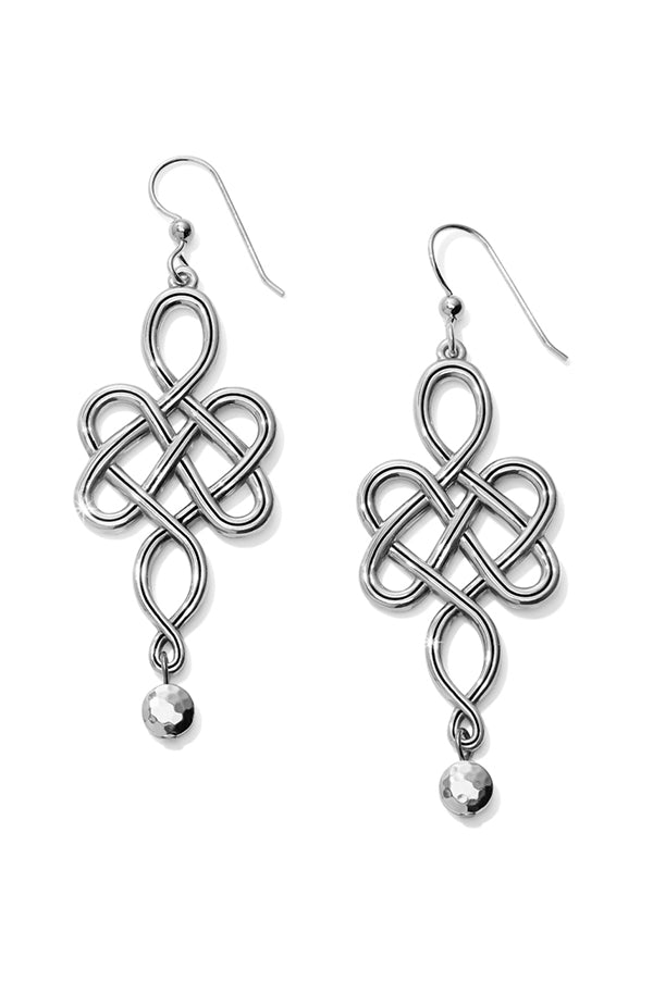 French Wire Earrings | Interlock Knot