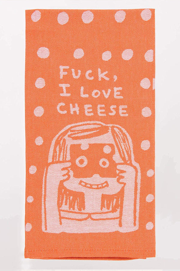Dish Towel | I Love Cheese