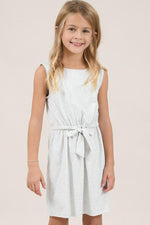 Girls Jersey Dress | Ash Grey