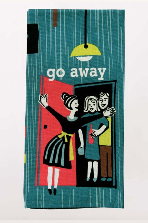 Dish Towel | Go Away