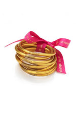 All Weather Bangles Set of 3 | Gold