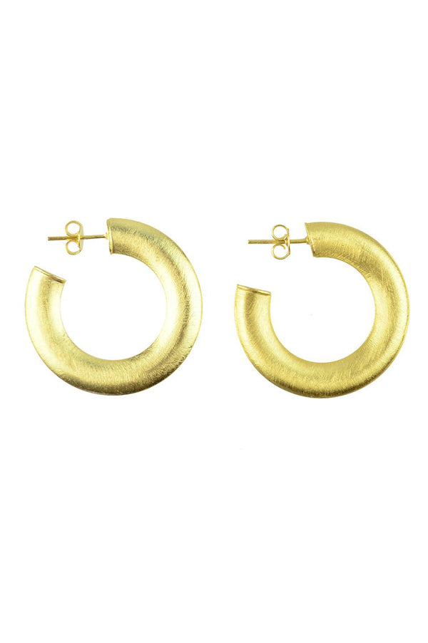 Serena Hoops | Extra Small Gold
