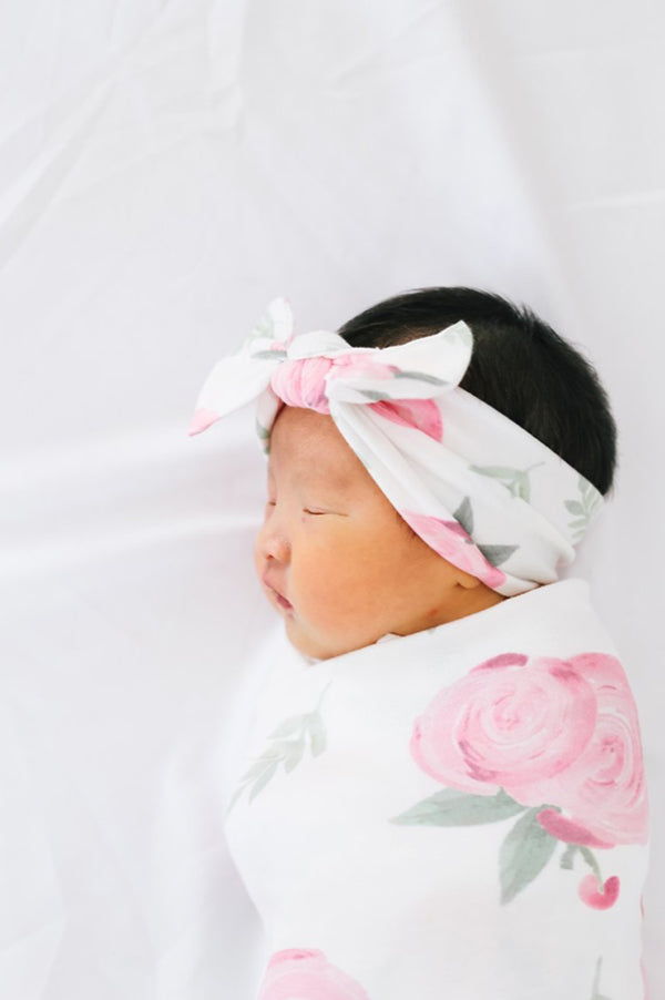 Knit Headband Bow | Grace