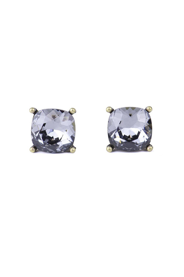 Hadley Studs | Black Diamond