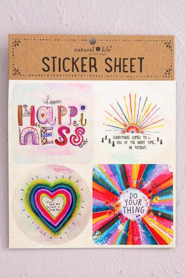 Sticker Sheets | Choose Happiness