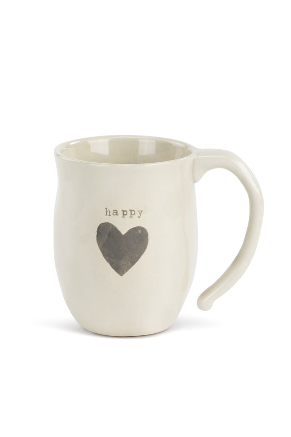 Heart Mug | Happy
