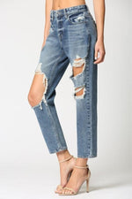 Bailey Destructed Boyfriend Jeans