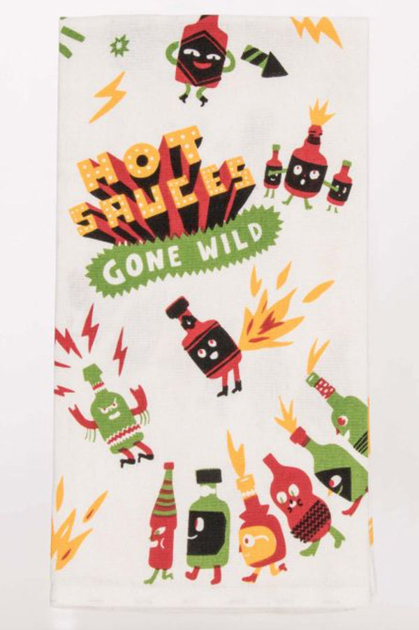 Dish Towel | Hot Sauces Gone Wild