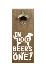 Magnetic Beer Bottle Opener | In Dog Beers
