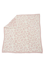 Baby Blanket | Barefoot In The Wild | Dusty Rose