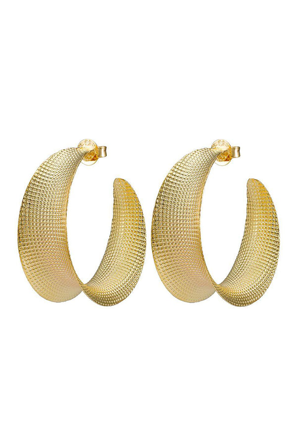 Sheila Fajl Iris Hoop Earrings
