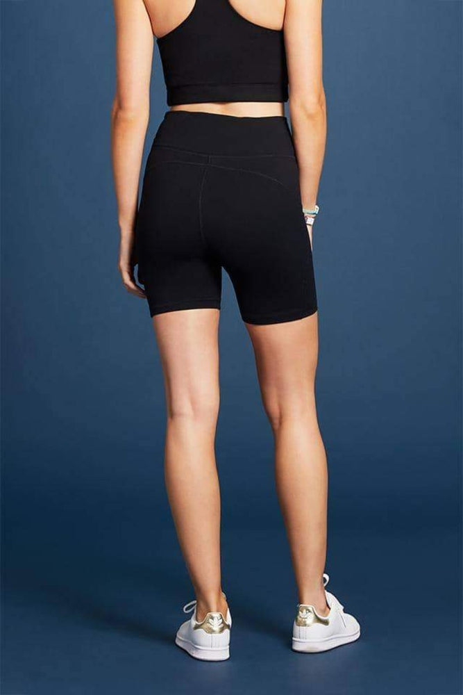 Alaina Bike Shorts | Black