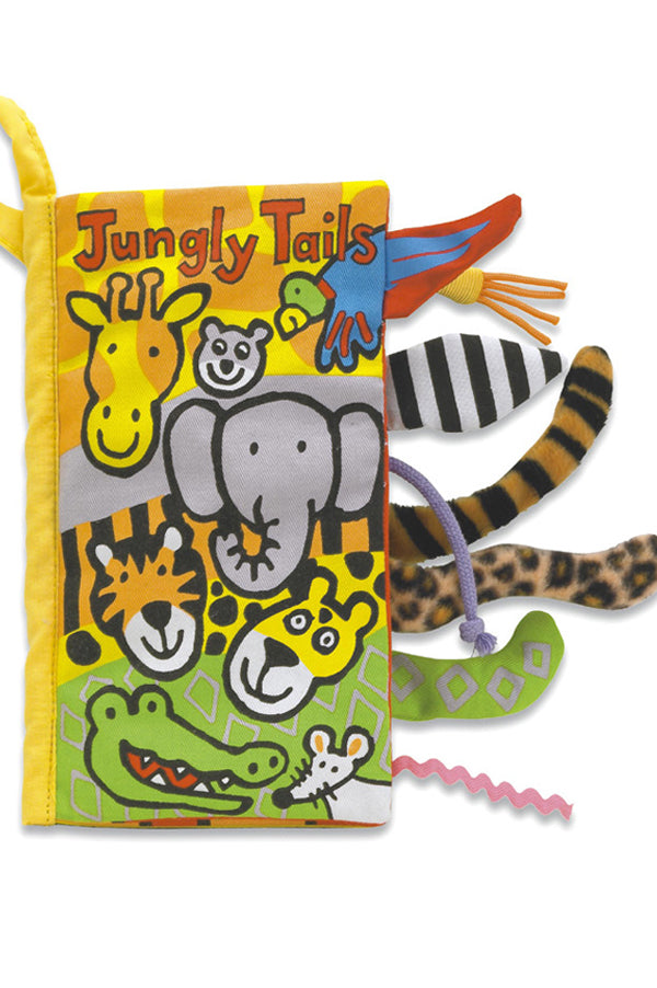 Soft Activity Book | Jungle Tails