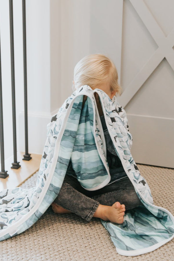 Three-Layer Stretchy Quilt | Kai