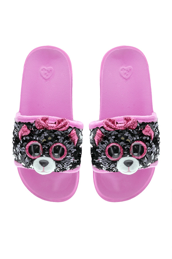 Reversible Sequin Slides | Kiki Cat