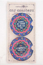 Car Coaster Set of 2 | Kindness Matters