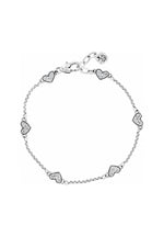 Kiss & Tell Anklet | Silver