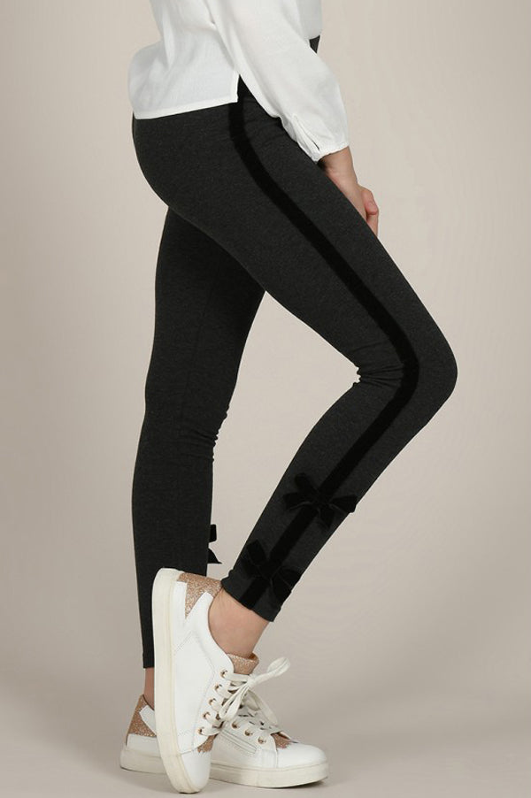 Knitted Leggings | Dark Grey