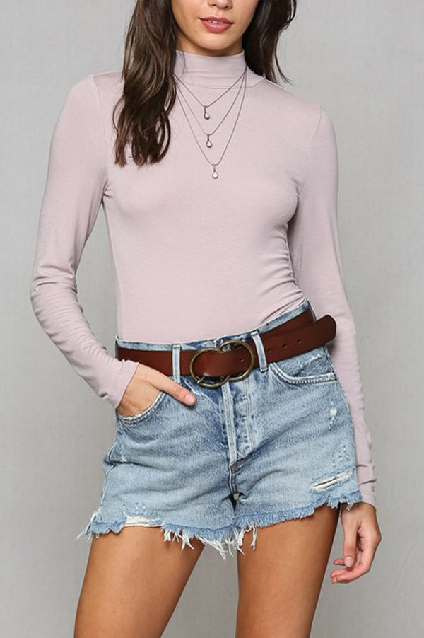 Perfect Layering Turtle Neck | Lavender