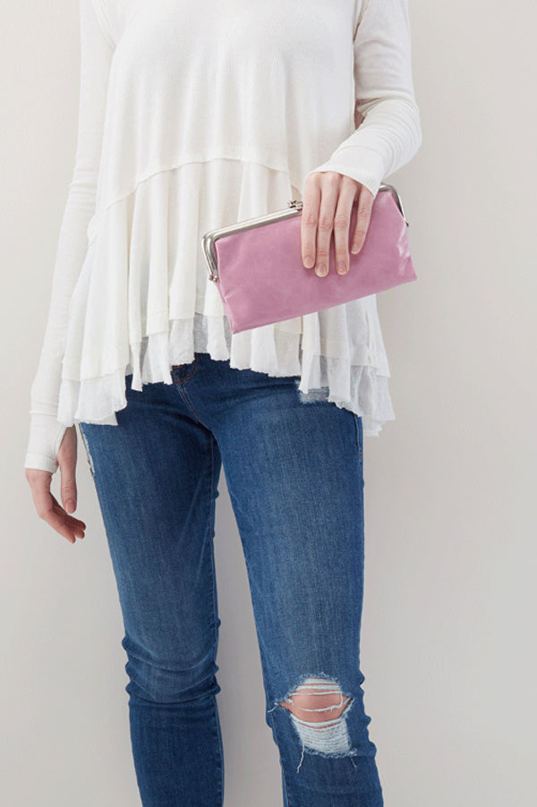 Lauren Clutch Wallet | Lilac