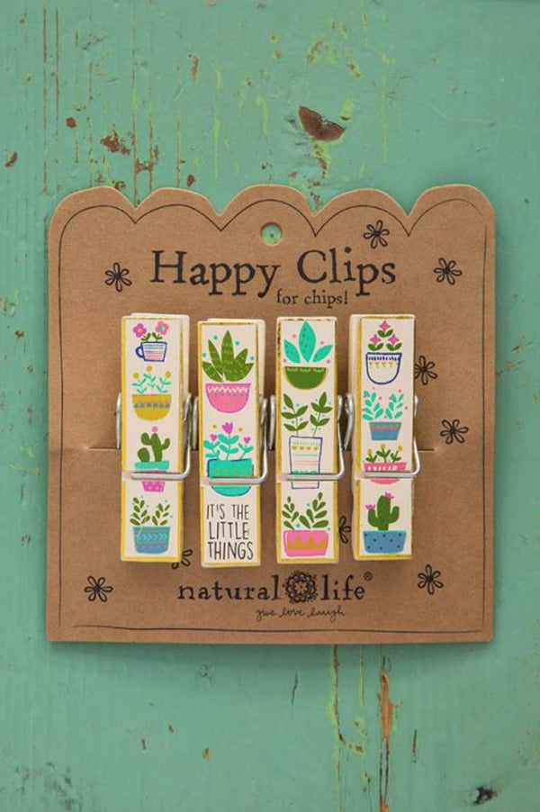 Chip Clips | Little Things Succulents