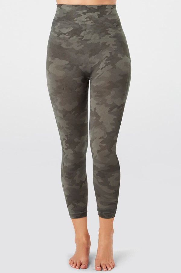 Look At Me Now Cropped Leggings | Sage Camo