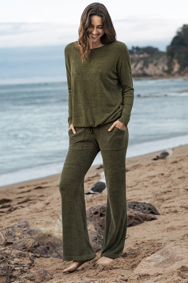 Cozy Chic Ultra Lite Lounge Pants | Olive