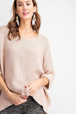 Oversized Its a Breeze Sweater | Mauve