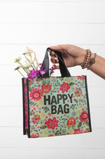 Medium Recycled Bag | Happy Bag