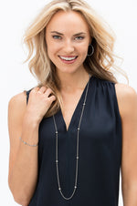 Meridian Orbit Long Necklace