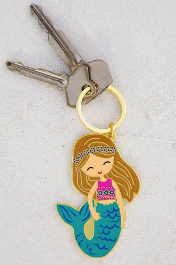 Enamel Keychain | Mermaid