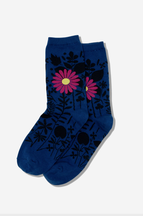 Crew Socks | Mixed Floral