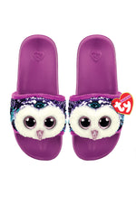 Reversible Sequin Slides | Moonlight Owl